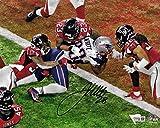 Signed James White Picture - Super Bowl 16x20 GW TD FANATICS - Fanatics Authentic Certified - Autographed NFL Photos