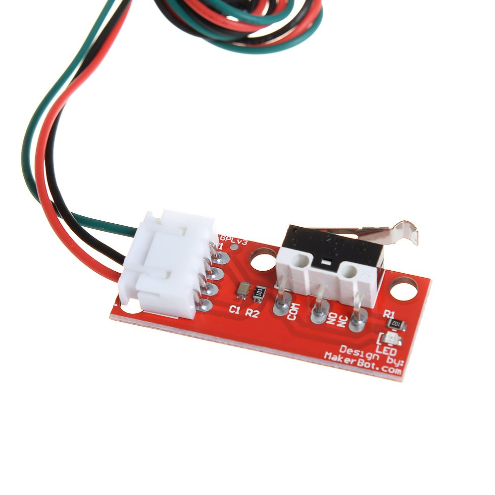 DZS Elec 6pcs Mechanical Endstop Limit Switch Touch Switch Module for 3D Printer Makerbot Prusa Mendel RepRap CNC Arduino Mega 2560 1280 RAMPS 1.4 LKB01