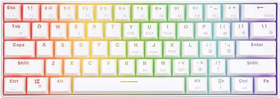 RK61 60% RGB Mechanical Gaming Keyboard Small Compact 61 Keys