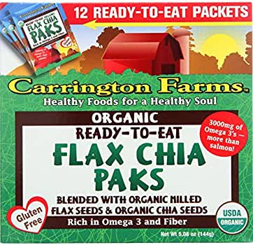Carrington Granjas Paquetes de Lino - Listo para Comer - orgánicos ...