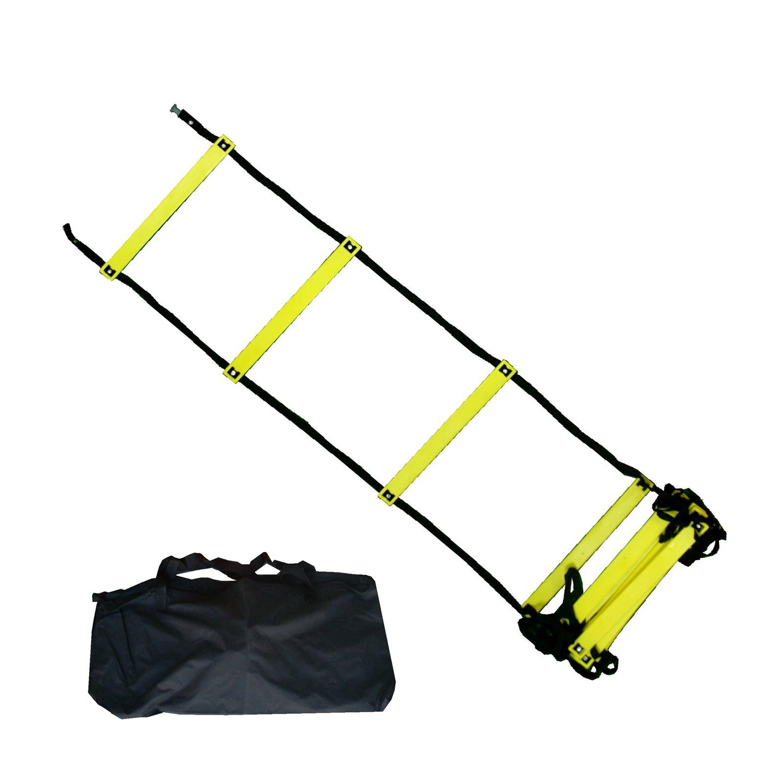BlueDot Trading Speed Agility Training Sports Equipment Ladder, 15-Feet