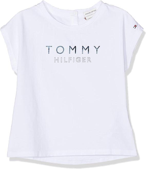 Tommy Hilfiger Baby Girl Printed Dress S//S Blusa para Beb/és
