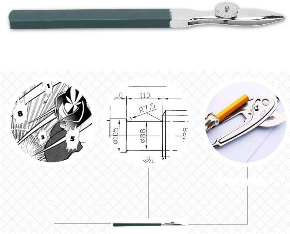 Tarente Multi Function Line Masking Artists Ruling Pen Painting Supplies Stationery 120 wide mouth