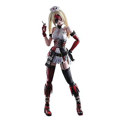 Square Enix DC Comics Variant Play Arts Kai: Harley Quinn (Tetsuya Nomura Version) Action Figure: Square-Enix: Toys & Games
