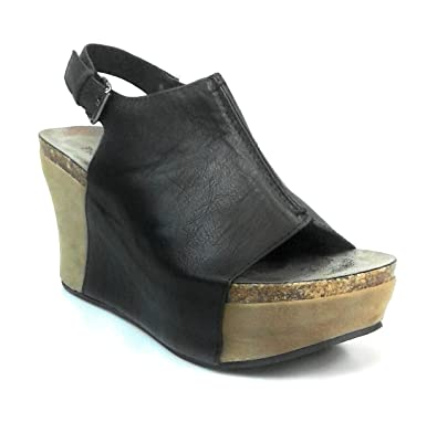 9b184b3ad684 Amazon.com  Pierre Dumas Hester-14 Women s Platform Wedge Open Toe ...