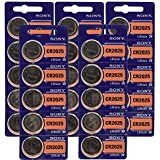 25pc SONY 2025 CR2025 3V Lithium Coin Battery (25 Batteries)