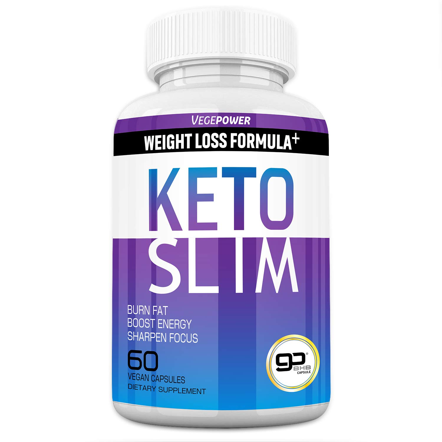 Keto Diet Pills - Extreme Keto Burn Fat Slim Fast - Boost Energy&Mental Focus&Better Sleep - goBHB Includes ACV Supplement for Women & Men - Advanced Carb Blocker Exogenous Ketones - 30 Days' Supply by VEGEPOWER