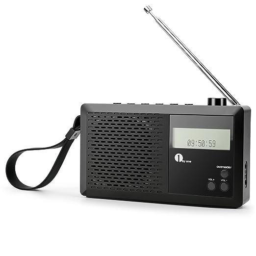 11 opinioni per 1byone Radio Digitale Portatile DAB / FM