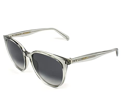 f475614d12ce Celine 41068 S RDN Transparent Grey 41068S Round Sunglasses Lens Category 3  Siz  Amazon.co.uk  Clothing