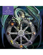 Adult Jigsaw Puzzle Anne Stokes: Wheel of the Year: 1000-piece Jigsaw Puzzles