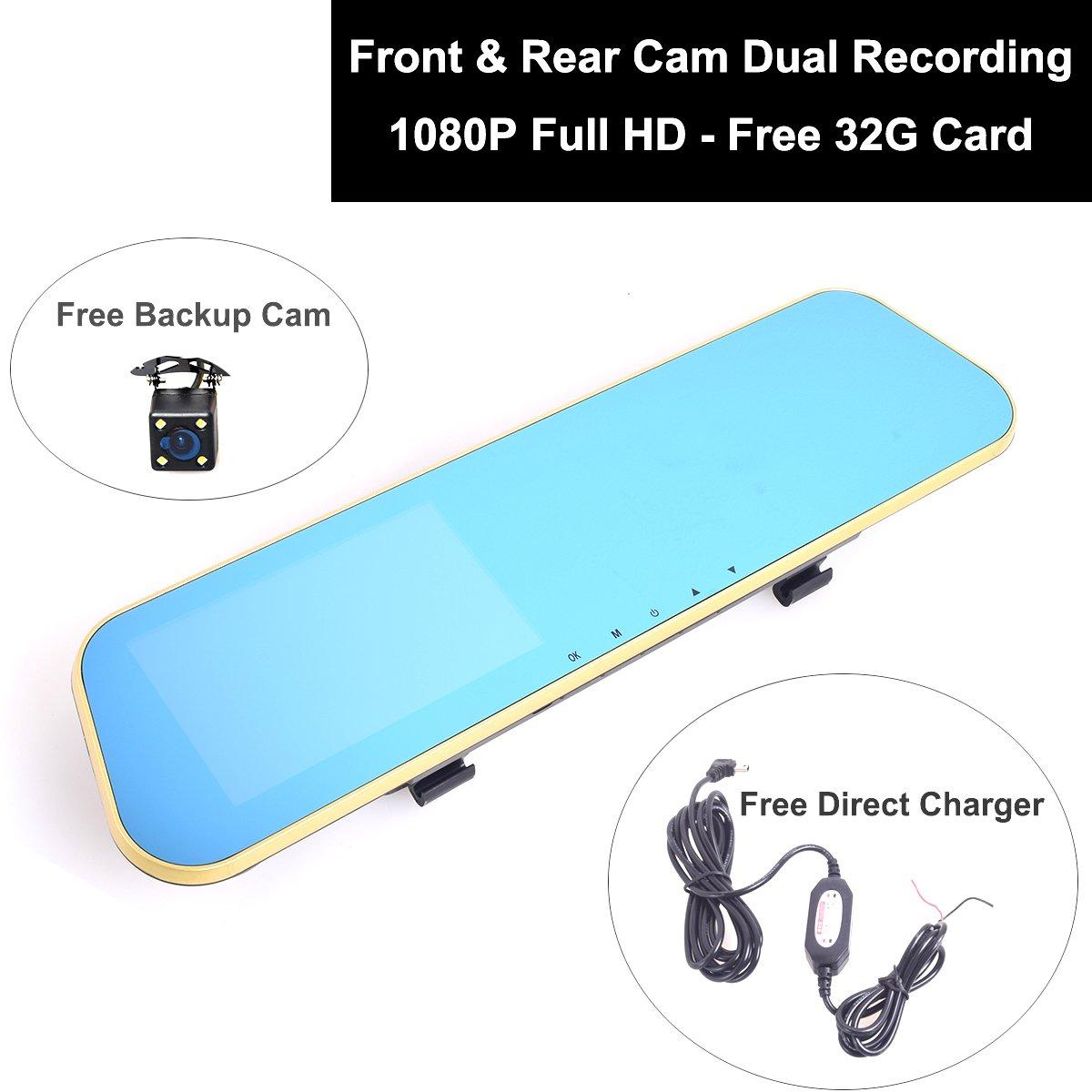Amazon.com: Car Truck 12-24V Auto Dash Cam DVR Camcorder 1080P Full ...