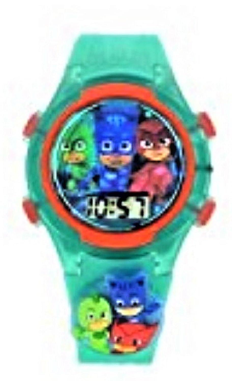 PJ Masks Kids Light up Watch with Flashing Charm