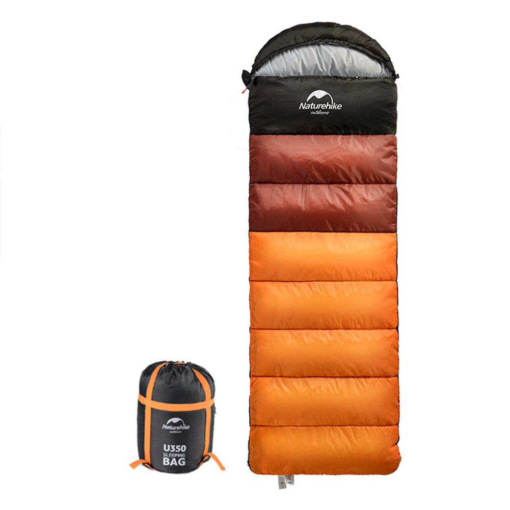 Tentock 4 Seasons - Saco de dormir para adultos, de compresión gruesa, para acampada, senderismo, orange,U350: Amazon.es: Deportes y aire libre