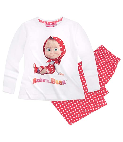Masha and The Bear Chicas Pijama - Rojo - 134