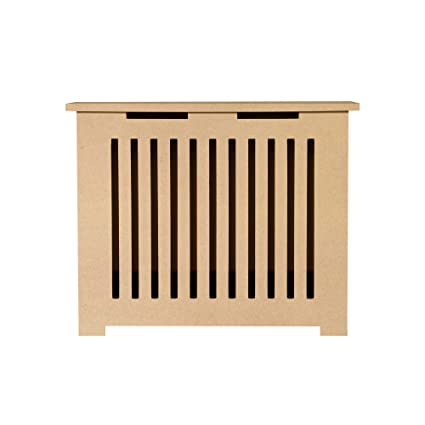 "Unfinished MDF Radiator Heater Cover, 24""Tall x 32""Wide x 9"""