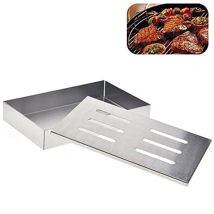 Amazon.com: HINMA2 - Caja para ahumar carne, caja superior ...