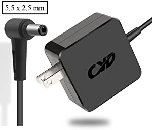 CYD 33W 19V 1.75A PowerFast Replacement for Laptop-Charger Asus X551X 551M X551MA X551MAV X751SA X751S X751na X751n D550MAV X451MA X451M F551CA F551MA F451 F451CA 0A001-00 Power-Cord