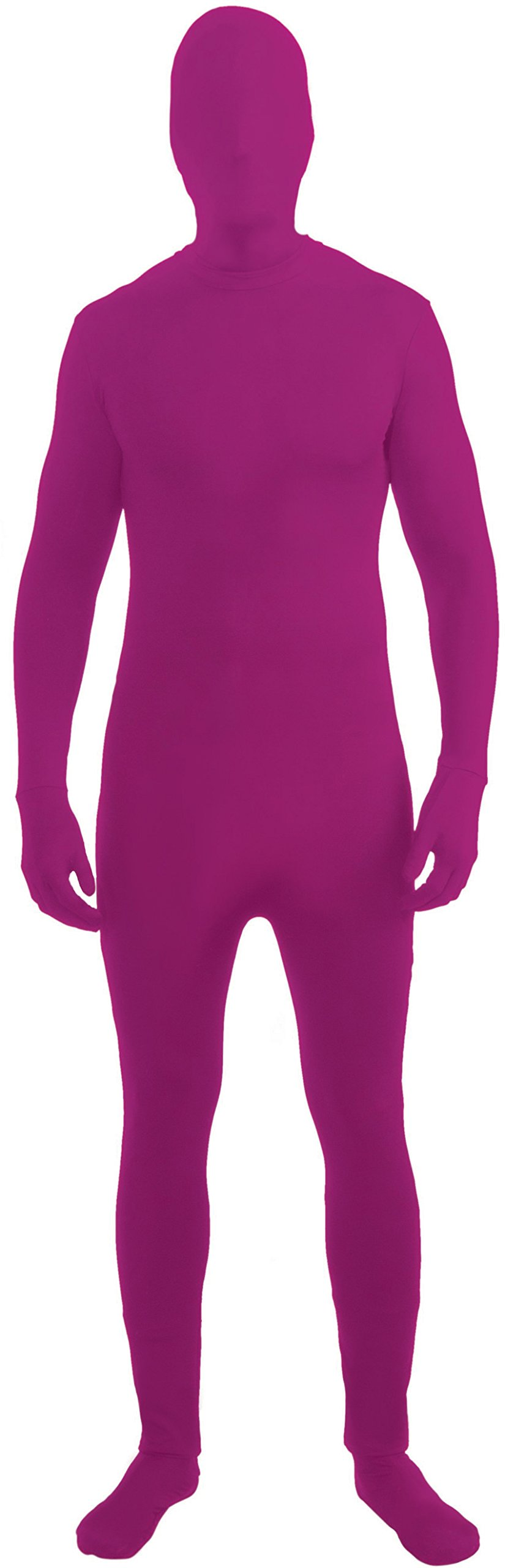 - 612PArmwCJL - Purple Invisible Skin Suit Kids Costume