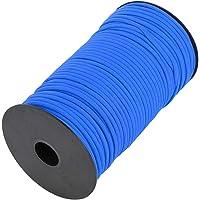 Buitenshuis Klimmen Touw, 100m Polyester en Polypropyleen Gemaakt Schuring Weerstand Skid Weerstand voor Wandelen (Blauw…