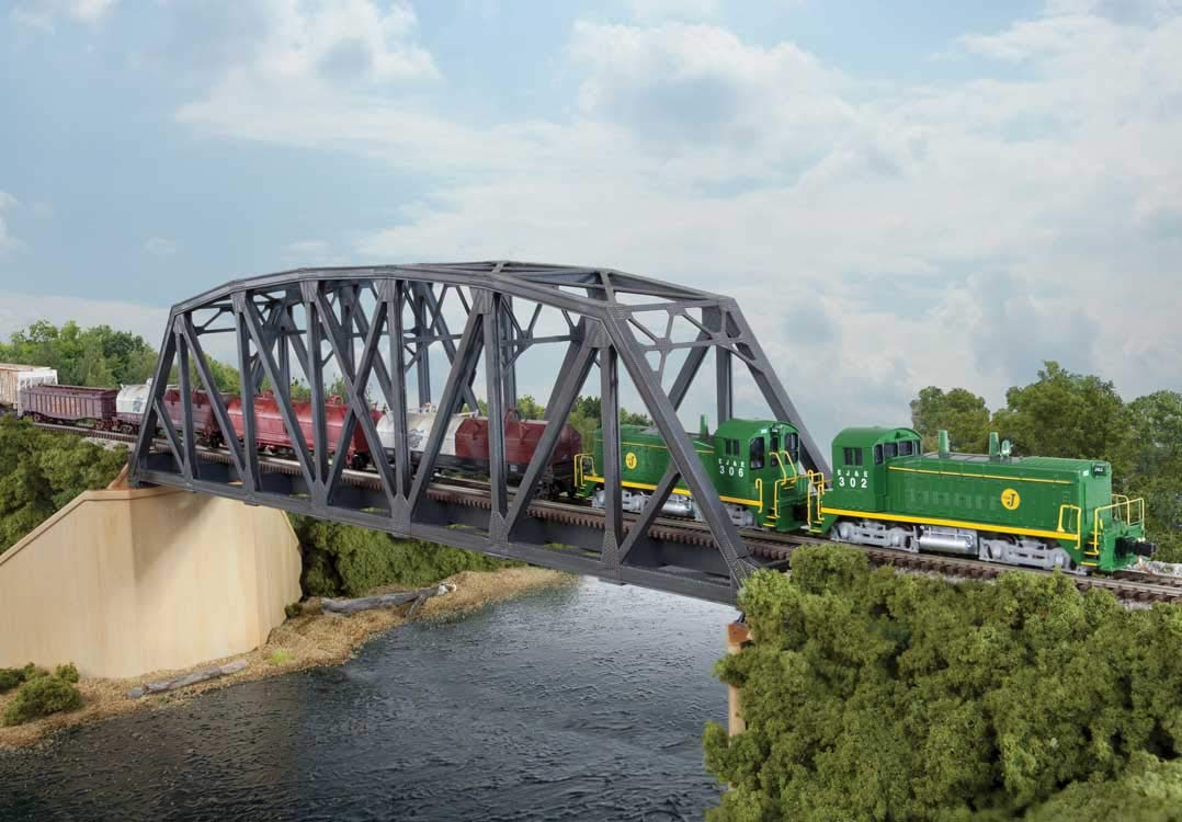 Walthers N Single-Track Arched Bridge