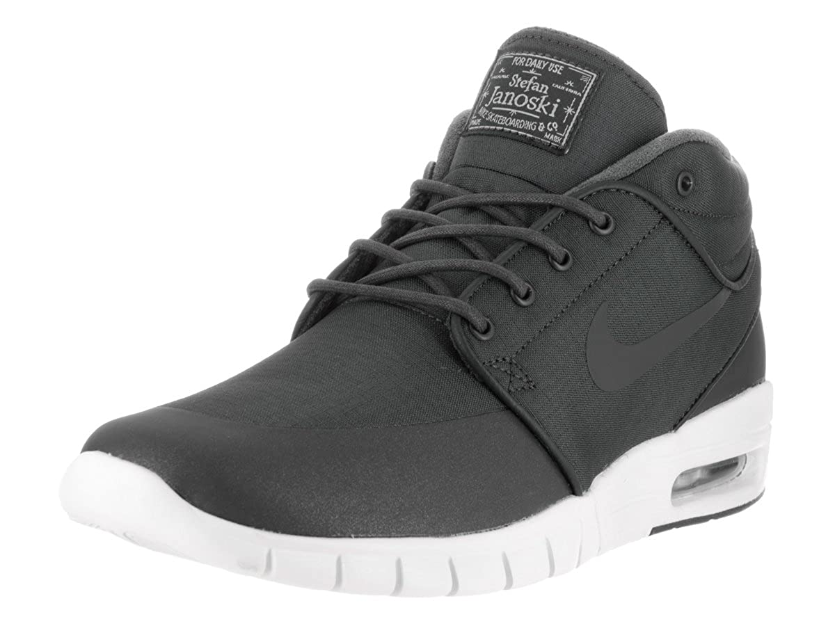 d4a6b7d526f Top10  Nike Mens Stefan Janoski Max Mid Anthracite Anthracite Metallic  Skate Shoe 10.5 Men US