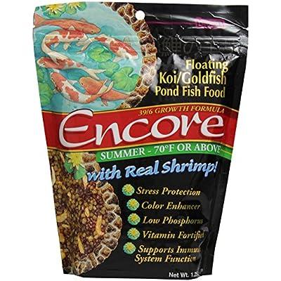 Click for F.M. Brown's Encore Aquatic Pond Food, 1-1/4-Pound, Encore Koi Food Summer