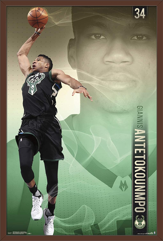 Trends International Mlb Milwaukee Bucks Giannis Antetokounmpo 22 375 X 34