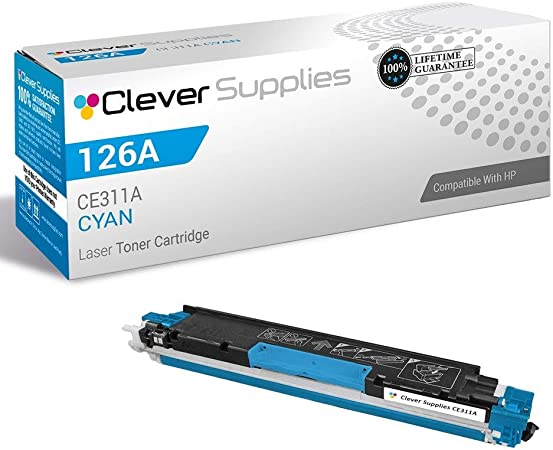 M275A 126A Laser Printers-4color M175A GHMEI Compatible Toner Cartridge CE310A Replacement for Color Laserjet CP1025 CP1025NW M275MFP M175NW