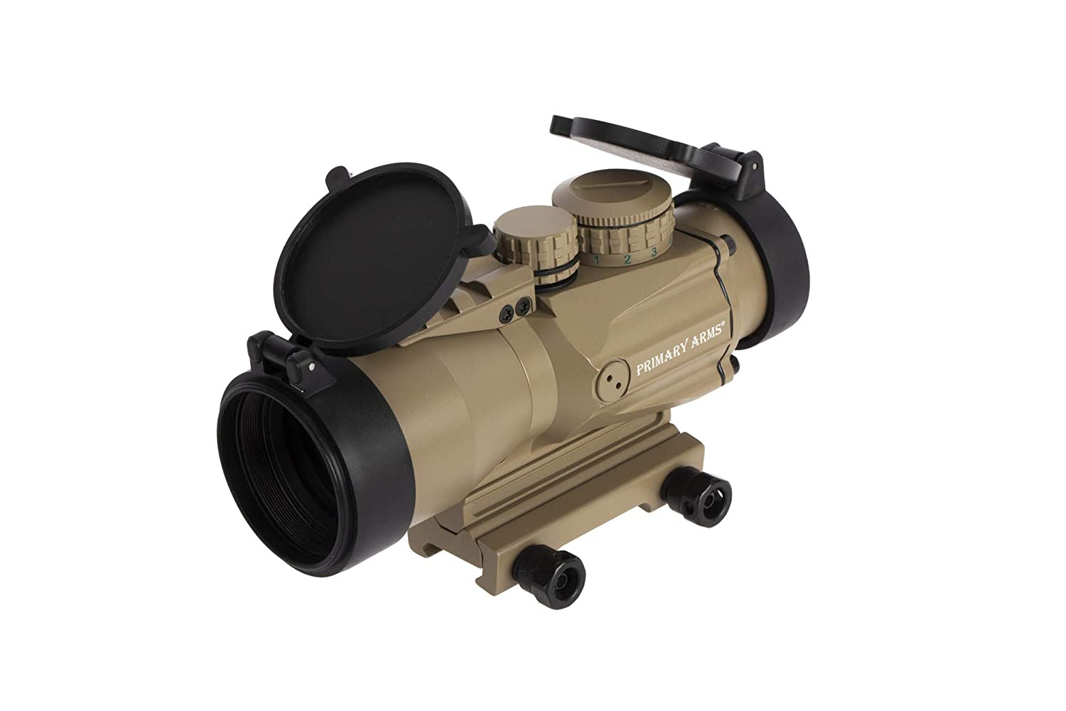 Primary Arms SLxP5 Compact 5×36 Gen II Prism Scope – ACSS-5.56 5.45 .308 – FDE