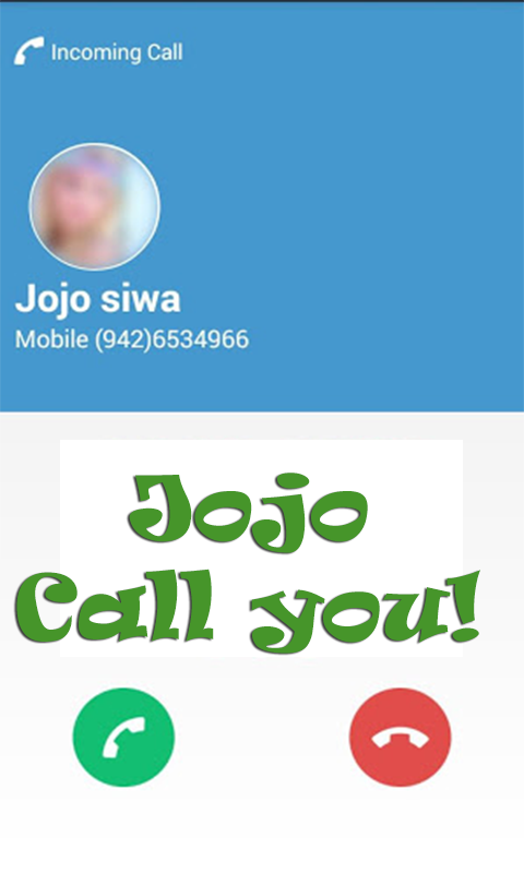 Amazon Com Call From Jojoo Appstore For Android