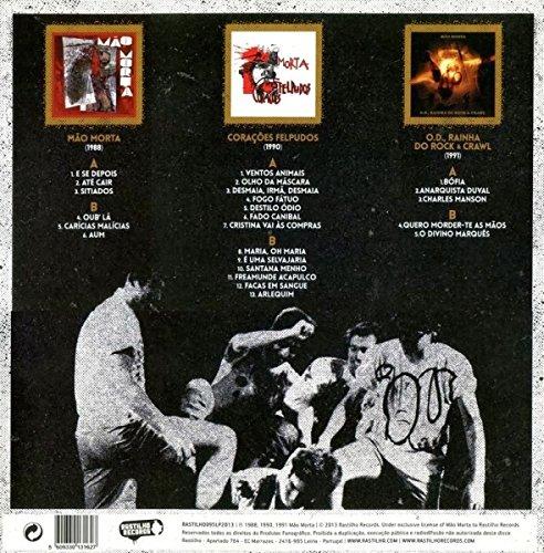 Mao Morta - Mao Morta ?? Mao Morta? / Coracoes Felpudos / O.D. Rainha Do Rock & Crawl [3LP VINYL] - Amazon.com Music