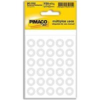 Reforço Autoadesivo 14.5mm, BIC, Pimaco, 886630, Transparente, 150 Etiquetas