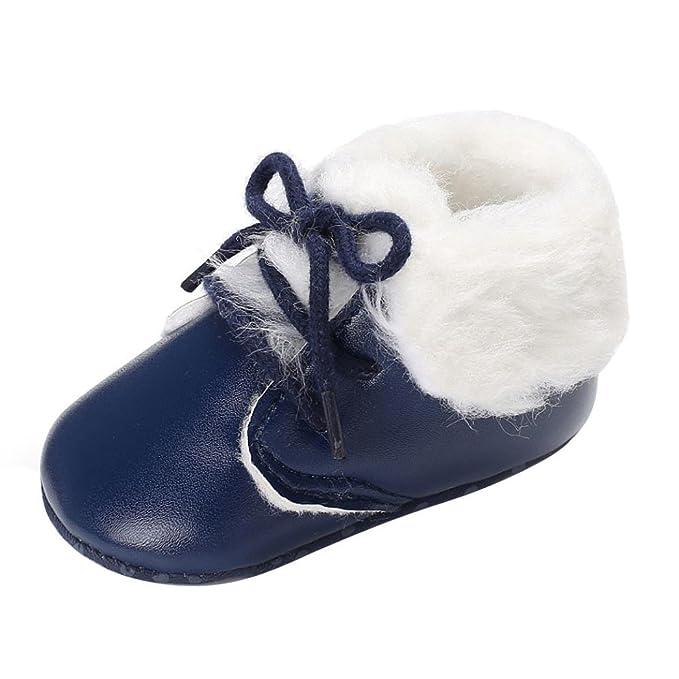 zapatos bebe invierno, Amlaiworld Botines bebé recién nacidos Niña Niño botas de nieve Zapatos calientes recién nacidos 0-18 Mes: Amazon.es: Ropa y ...