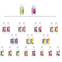 Hint Water Discovery Pack, 24 Bottles Including 17 Different Flavors (15 Caffeine Free, 2 Caffeinated), Zero Sugar, Zero…