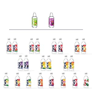 Hint Water Discovery Pack, 24 bottles including 17 Different Flavors (15 Caffeine Free, 2 Caffeinated), Zero Sugar, Zero Diet Sweeteners, Zero Calories