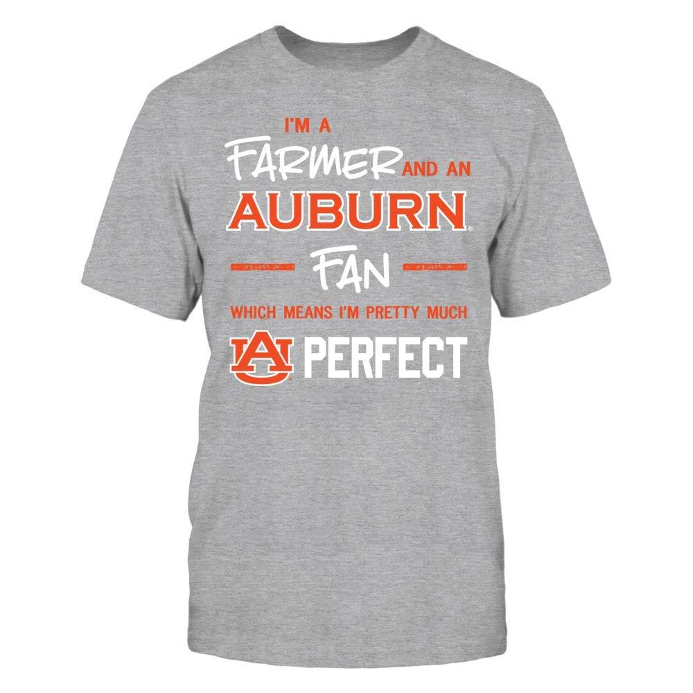 Tank Perfect FarmerFan T-Shirt FanPrint Auburn Tigers T-Shirt