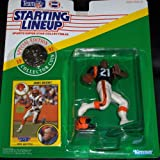 Starting Lineup 1991 James Brooks Special Edition with Collectors Coin Cincinnati Bengals