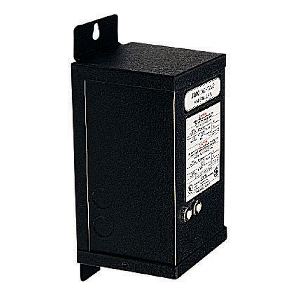 Track and Rail Transformer in Black Finish - Voltage