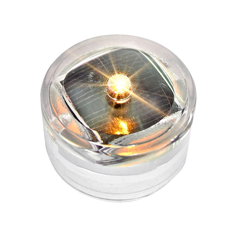 JUST style ソーラーLEDガーデンライト 自動充電 自動点灯 防水 B00Y18PWW8 点滅タイプ|オレンジ6個 オレンジ6個 点滅タイプ