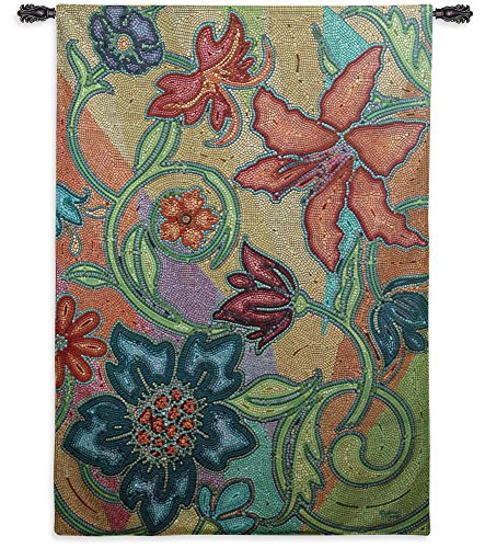 Fine Art Tapestries - mosaic wall art decor - Mosaic wall tapestry