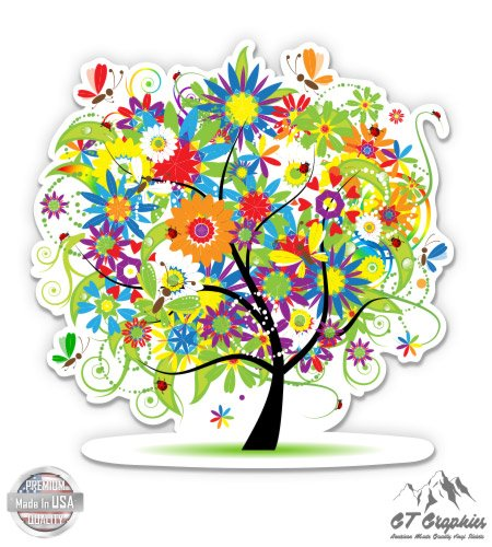 GT Graphics Whimsical Tree - 3