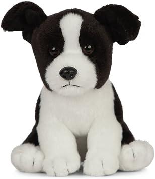AN512 Hund Welpe Puppe Weich Plüsch Living Nature 23CM Sitzender Shih Tzu