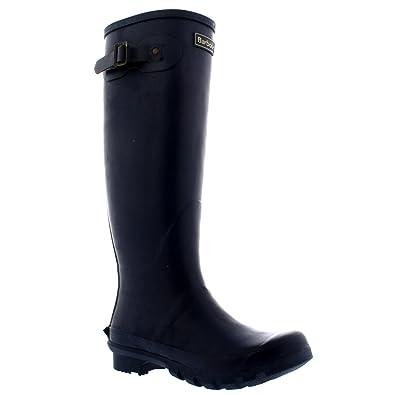 Damen Barbour Jarrow Schnee Wasserdicht Mitte Wade Gummistiefel Stiefel - Marine - 36 eQnBw615