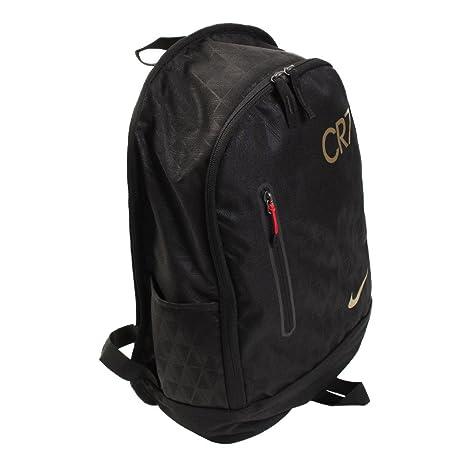 super popolare cbac8 e4a64 Zaino CR7 Football Backpack Nero, Nero: Amazon.it: Sport e ...