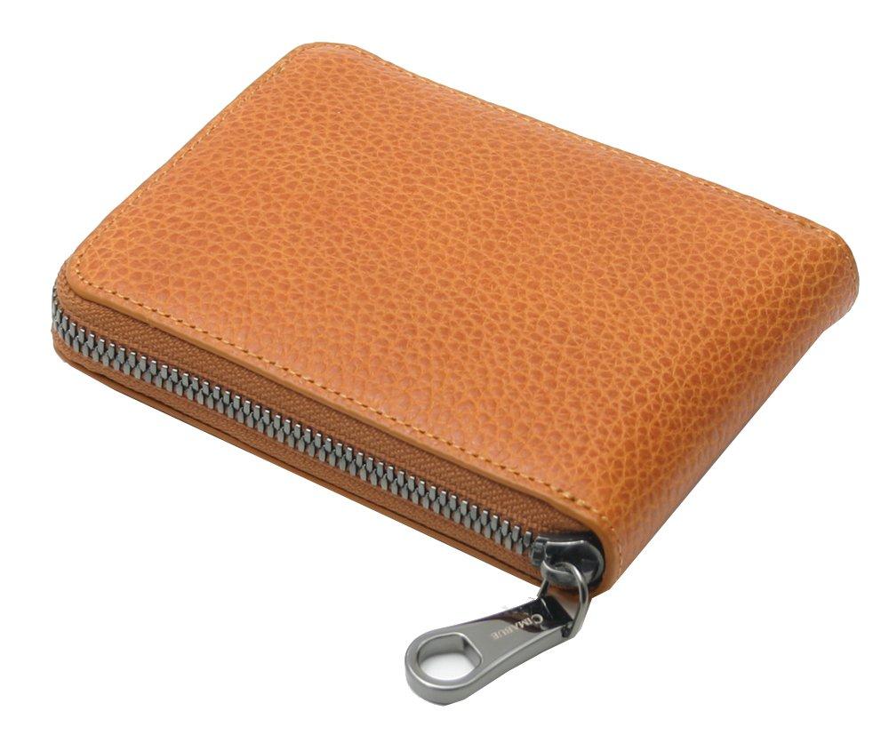 チマブエ 財布 バケットレザー(ヌメ革) ラウンド 二つ折り CIMABUE 15121 B01EA96S8Y キャメル キャメル -