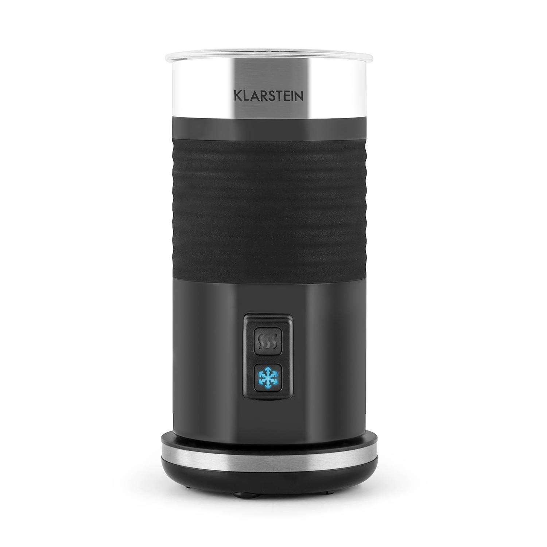 Klarstein Biancolatte schiumalatte cappuccinatore (resistenza 400W, 3 funzioni in 1, acciaio Inox, funzionamento a caldo e a freddo) - nero