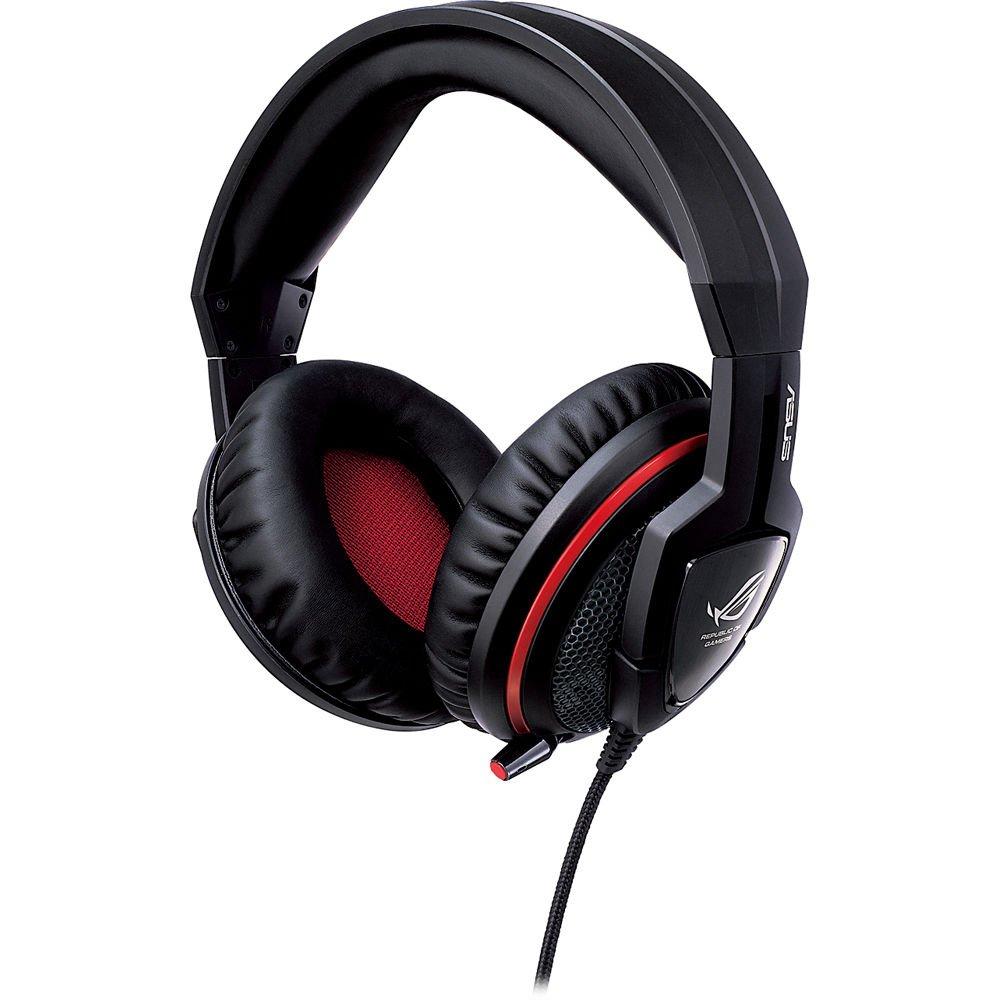 Auriculares con micr/ófono ASUS ROG Strix Wireless Consola de Videojuegos + PC//Videojuegos, Binaural, Diadema, Digital, Inal/ámbrico y al/ámbrico Color Naranja y Negro