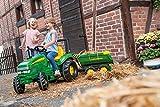 rolly toys 122165 Franz Cutter John Deere Giant Half-Pipe Trailer