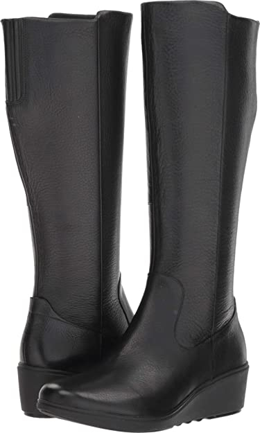 b96eaea2b5b6 CLARKS Women s Un Tallara ESA Black Leather 9.5 B US B ...