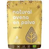 Avena molida - Natural Athlete - 100% Natural y orgánica, sin azúcar añadido. 1Kg (Vainilla)